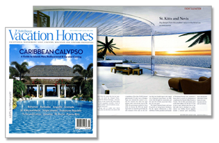 vacation homes magazine spread